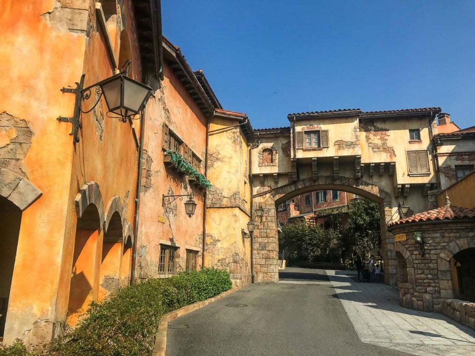 Italian buildings at DisneySea