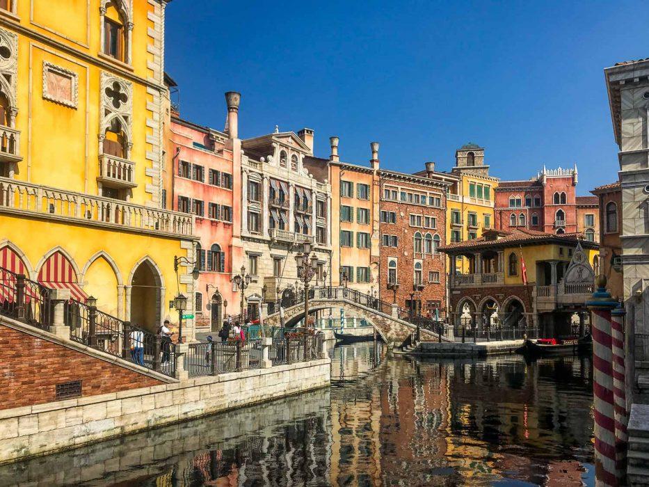 The Venice canals at DisneySea