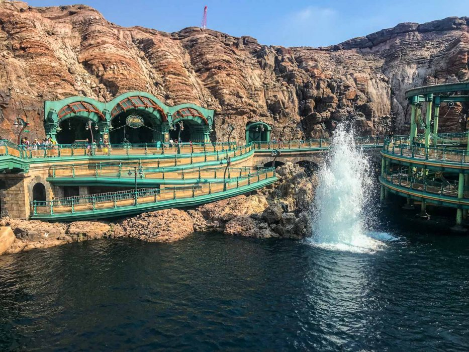 Journey to the Centre of the Earth, a unique ride at DisneySea Tokyo, Japan