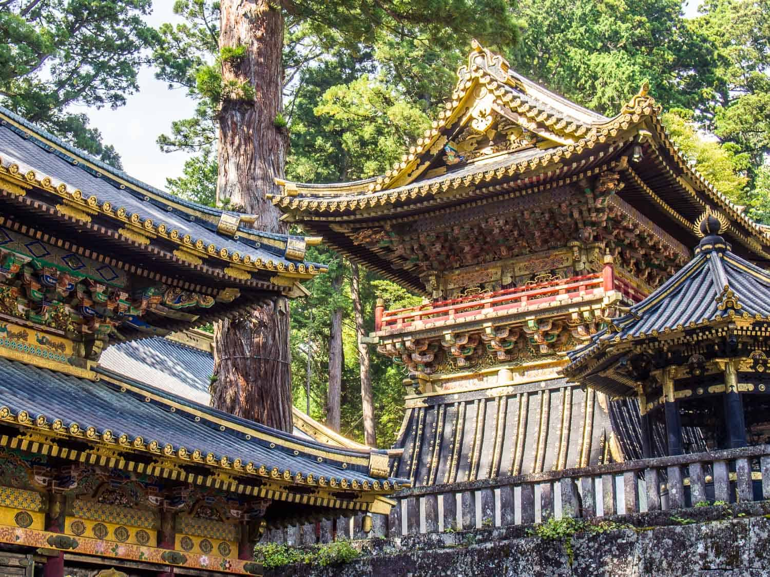 Toshogu Shrine in Nikko, the first stop after Tokyo on our two week trip in Japan