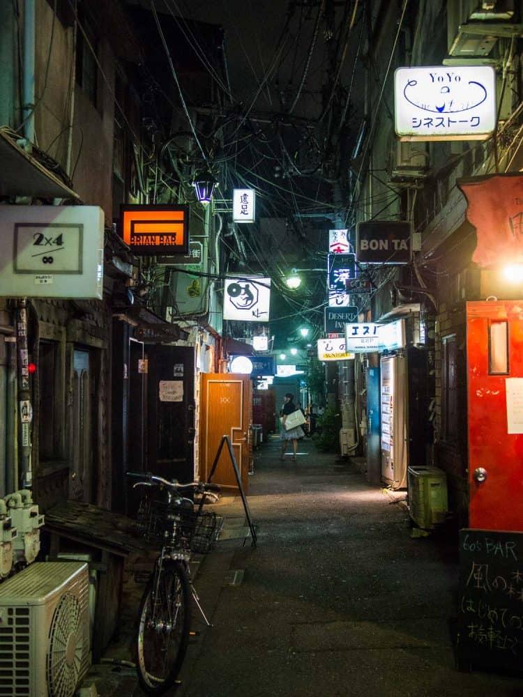 Golden Gai in Shinjuku, Tokyo