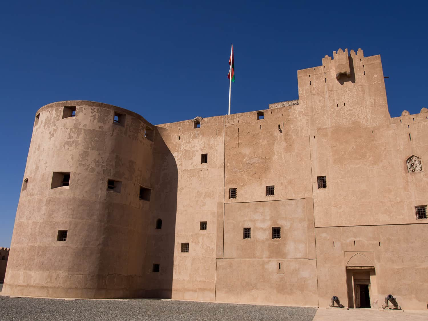 Jabrin Fort (aka Jabreen Castle), a stop on our 10 day Oman road trip