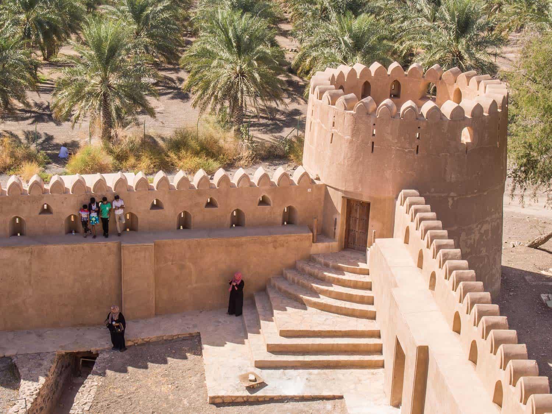 Jabrin Fort (or Jabreen Castle), Oman