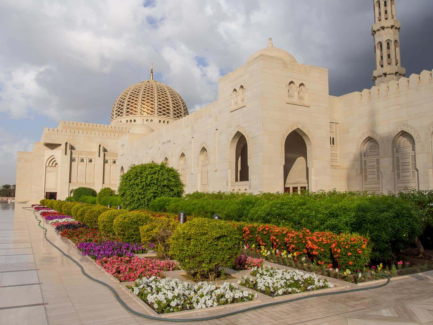 Grand Mosque in Muscat, one of the best places to visit in Oman