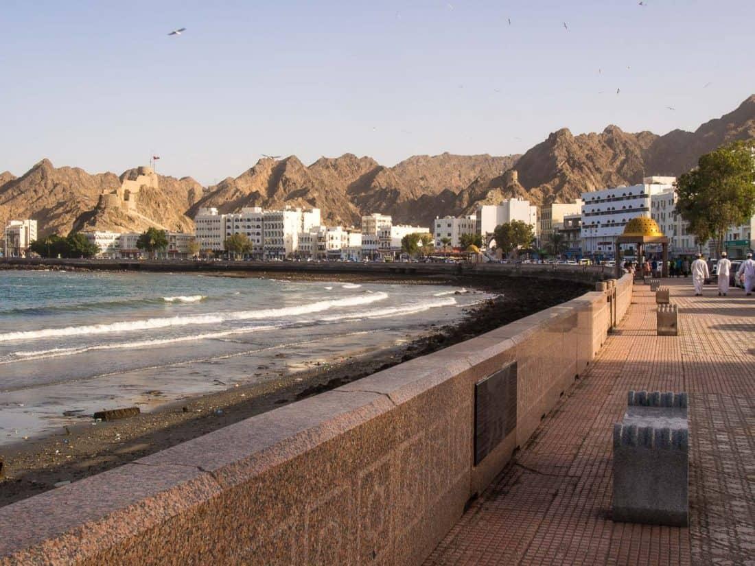 Mutrah Corniche in Muscat, Oman