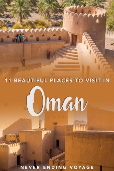 A guide to the most beautiful places to visit in Oman! | oman travel, middle east travel, places to visit in oman