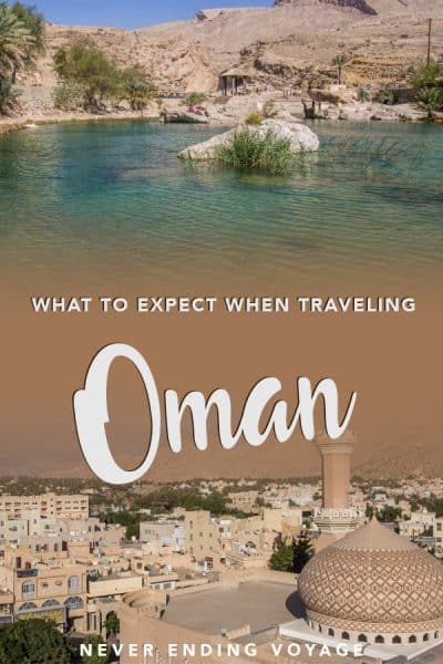 Is Oman safe to visit? What should you wear? Here's all you need to know about travel to Oman -- what to expect and more. #oman #omantravel