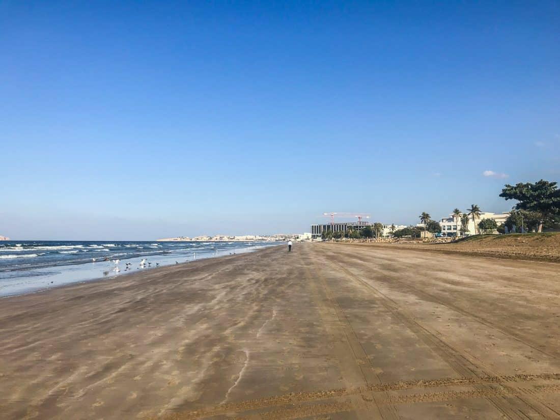 Qurum beach, Muscat, Oman