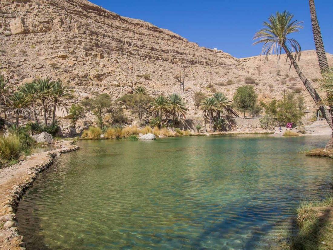 Wadi Bani Khalid, an Oman road trip highlight
