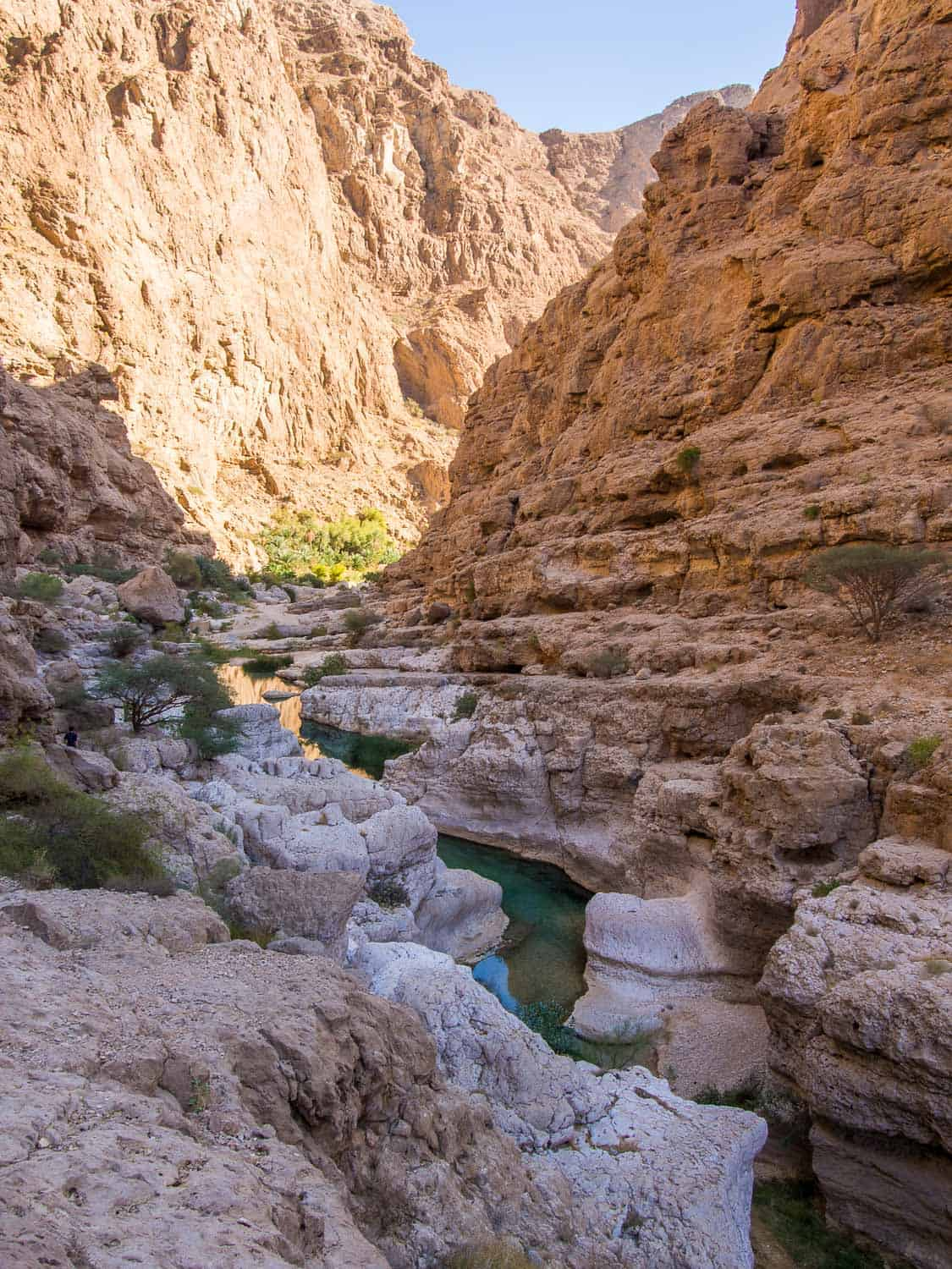 Wadi Shab, one of the best things to do in Oman