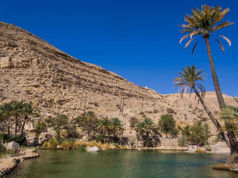 Wadi Bani Khalid, Oman - the best tips for visiting this beautiful Oman wadi.