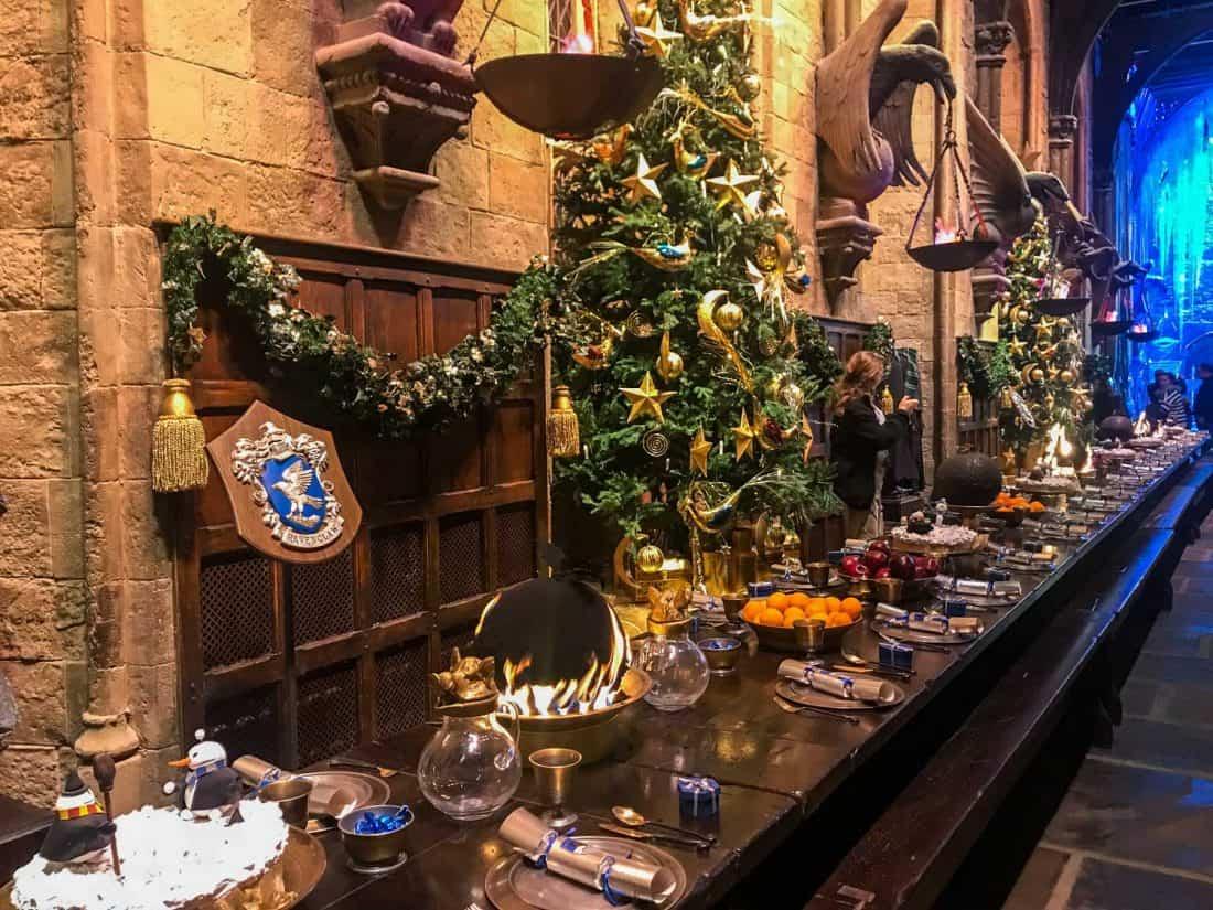 A Christmassy Harry Potter studio tour