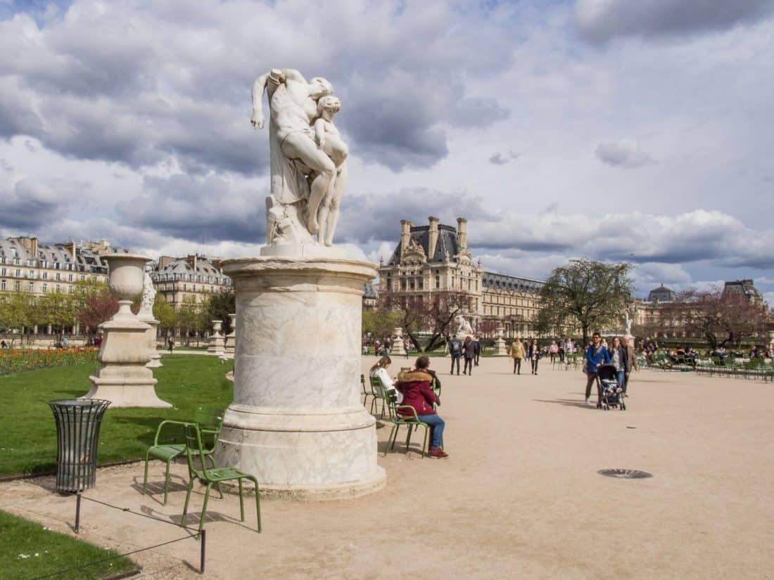 Statue in JardindesTuileries, Paris