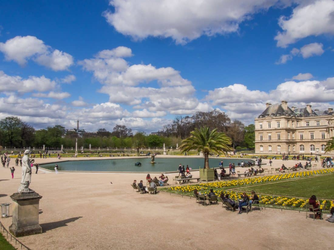 Luxembourg Gardens, a must visit on a one day trip to Paris