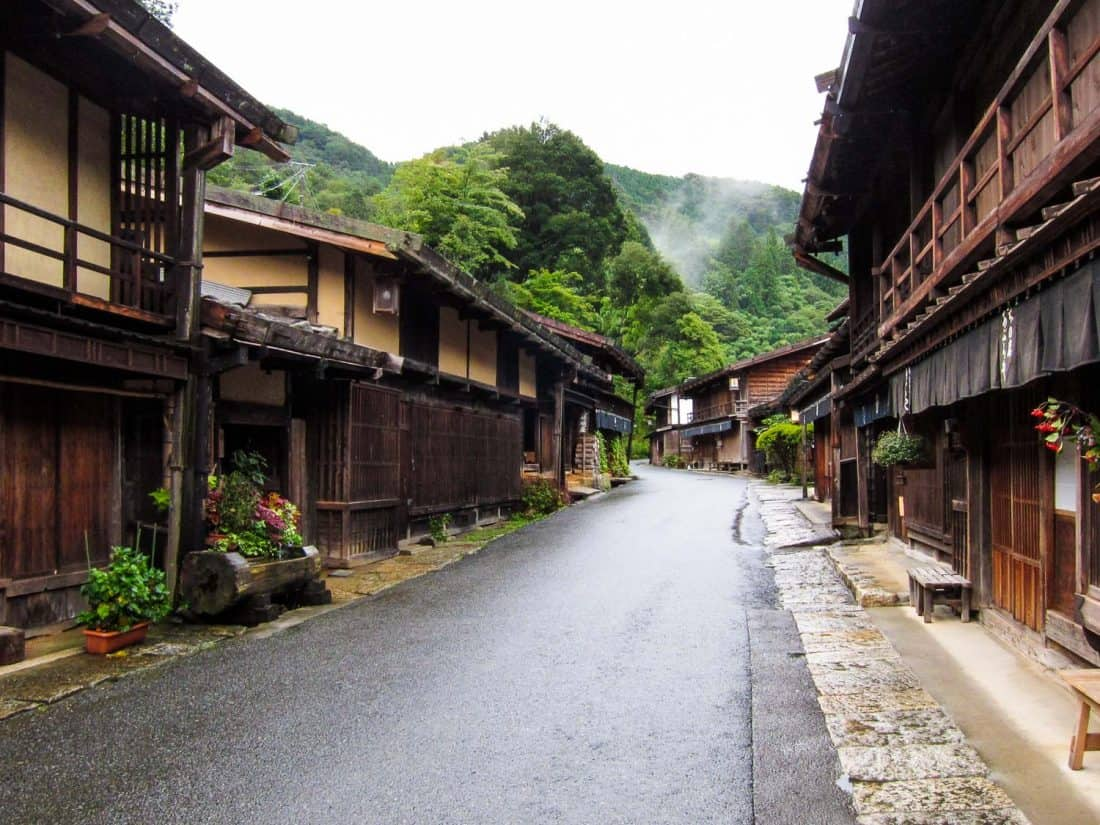 Tsumago village in the Kiso Valley, a must see in Japan