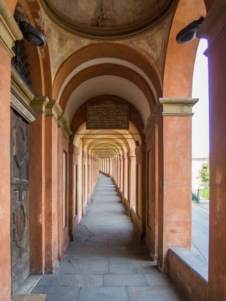 The Portico San Luca in Bologna