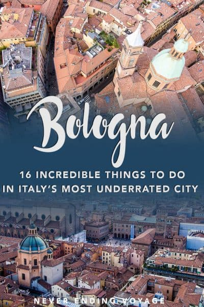 Don't miss this underrated city in Italy! Here are 16 incredible things to do in Bologna.