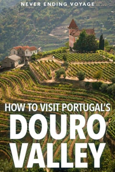 how to visit dour valley, portugal's wine region