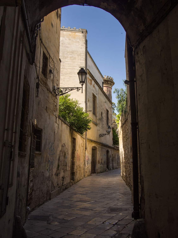 Backstreet of Lecce, Puglia