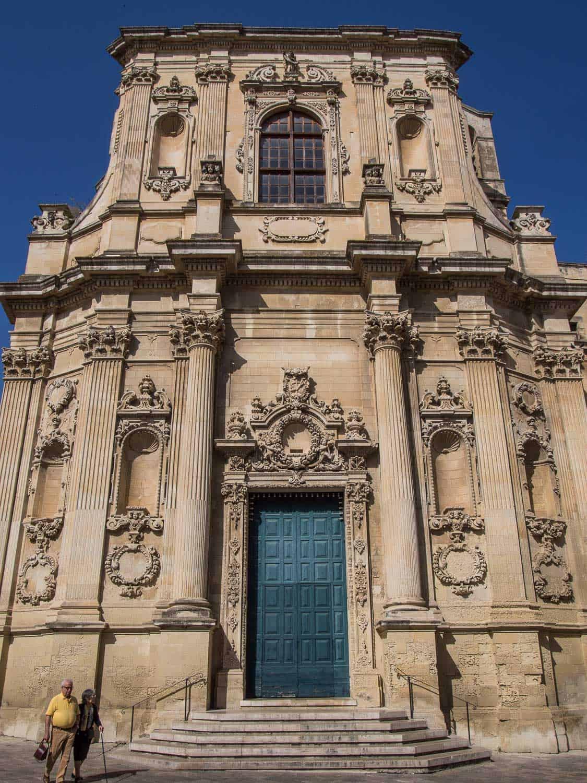 Santa Chiara church Lecce