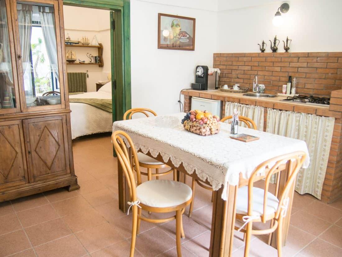 Our Superior room with kitchen at Masseria Il Frantoio