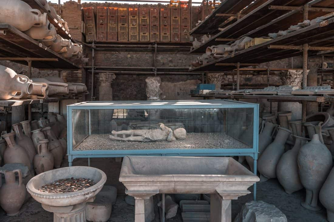 Pompeii is a popular day trip from Rome or Naples