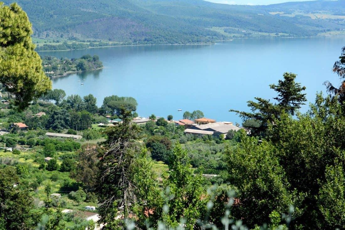 Lake Bracciano near Rome, Italy