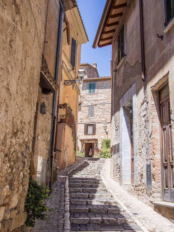 Casperia in Lazio near Rome