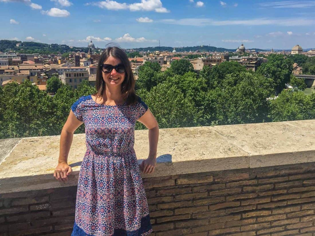 View from Orange Garden on Aventine Hill, Rome