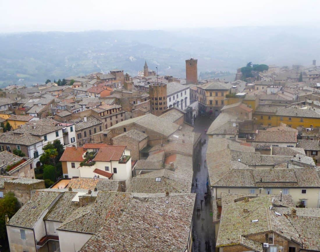 Orvieto is one of the best day trips from Rome, Italy