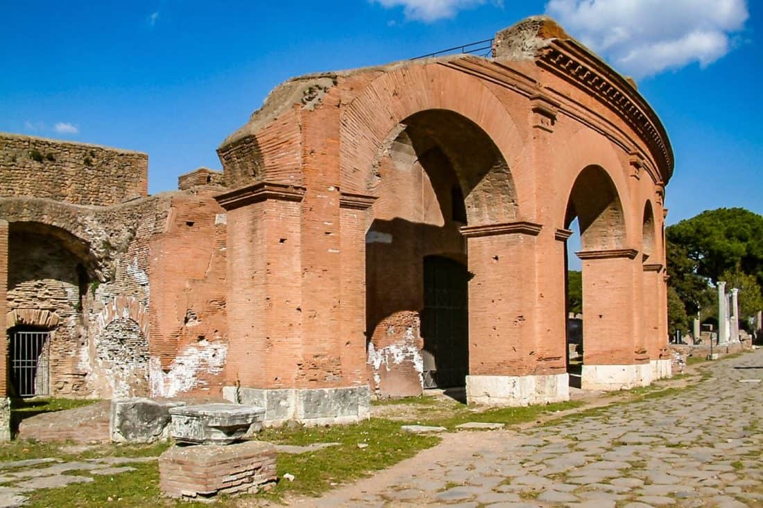 Ostia Antica is the easiest day trip from Rome