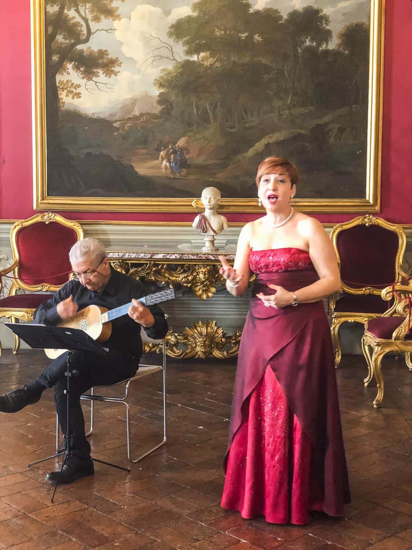Sounds and Visions of Caravaggio tour at Palazzo Doria Pamphilj