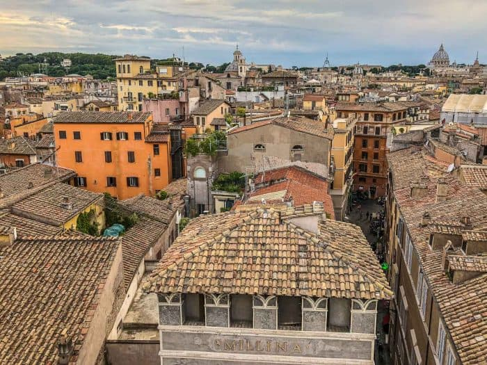 The Eitch Borromini rooftop terrace is one of the best unusual things to do in Rome