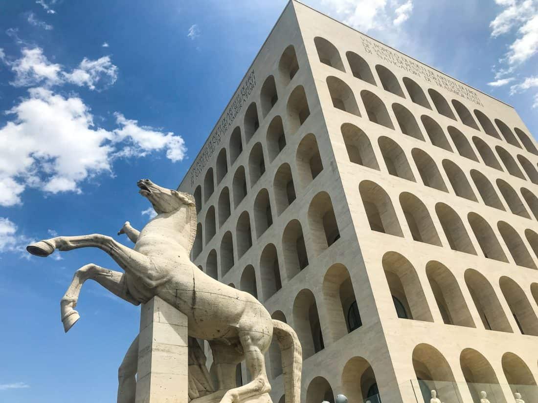 Palazzo della Civiltà Italiana in EUR, Rome