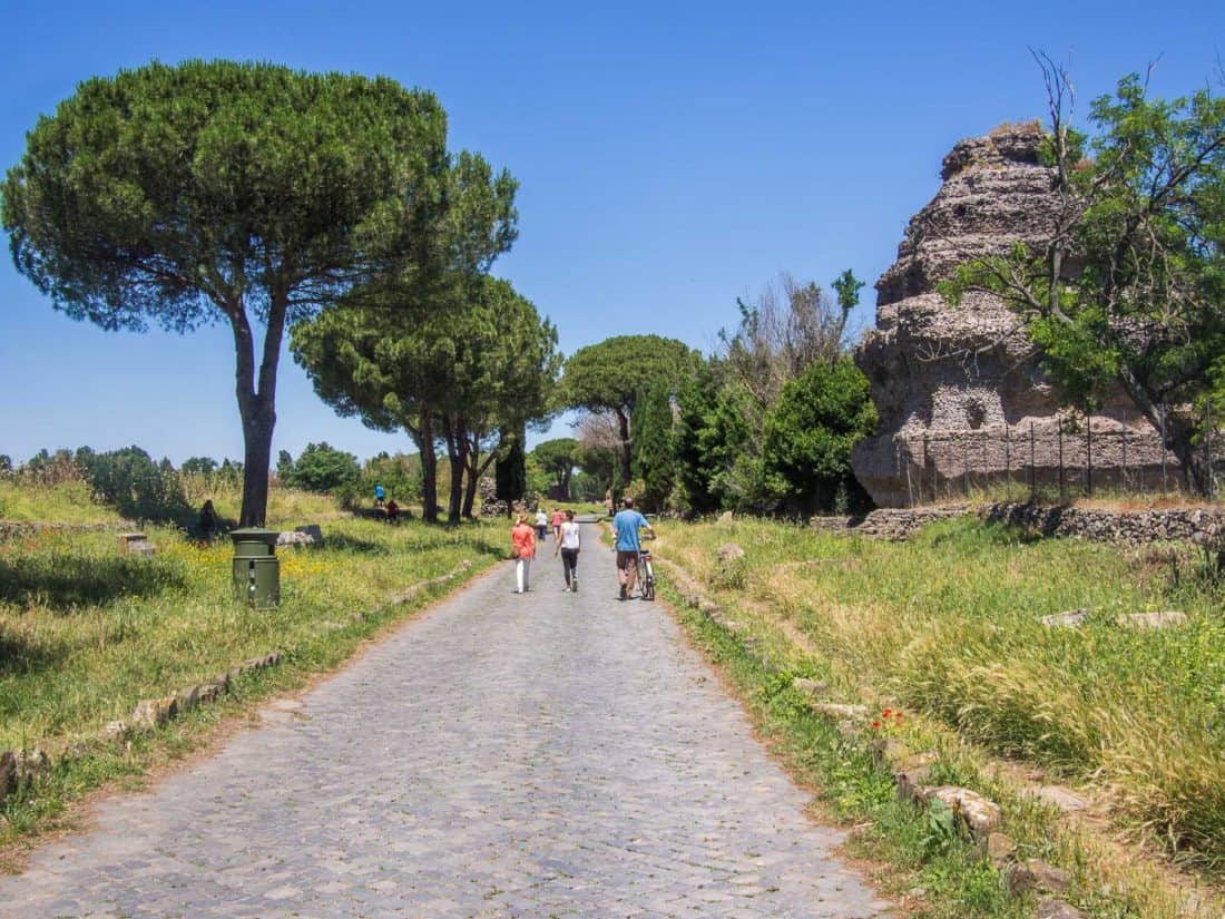 Appian Way in Rome