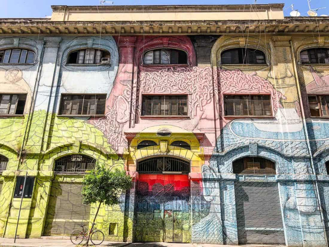 Ostiense street art in Rome- a great way to get off the beaten track