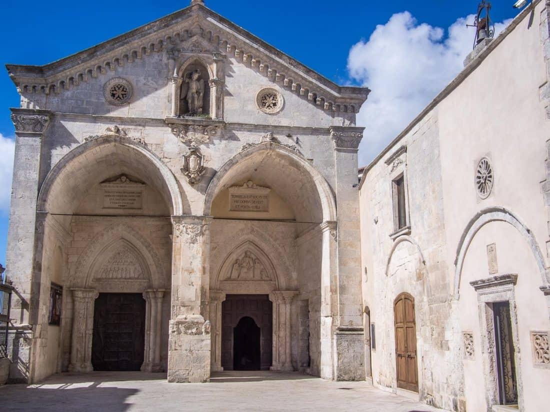Sanctuary of San Michele Arcangelo in Monte Sant'Angelo in Gargano Puglia, Italy