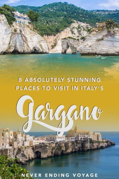 You do NOT want to miss these stunning places in Gargano, Italy!