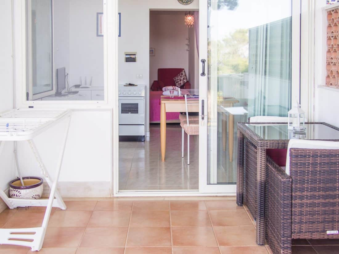 Residence Maresol Vieste review - our one bedroom apartment with terrace