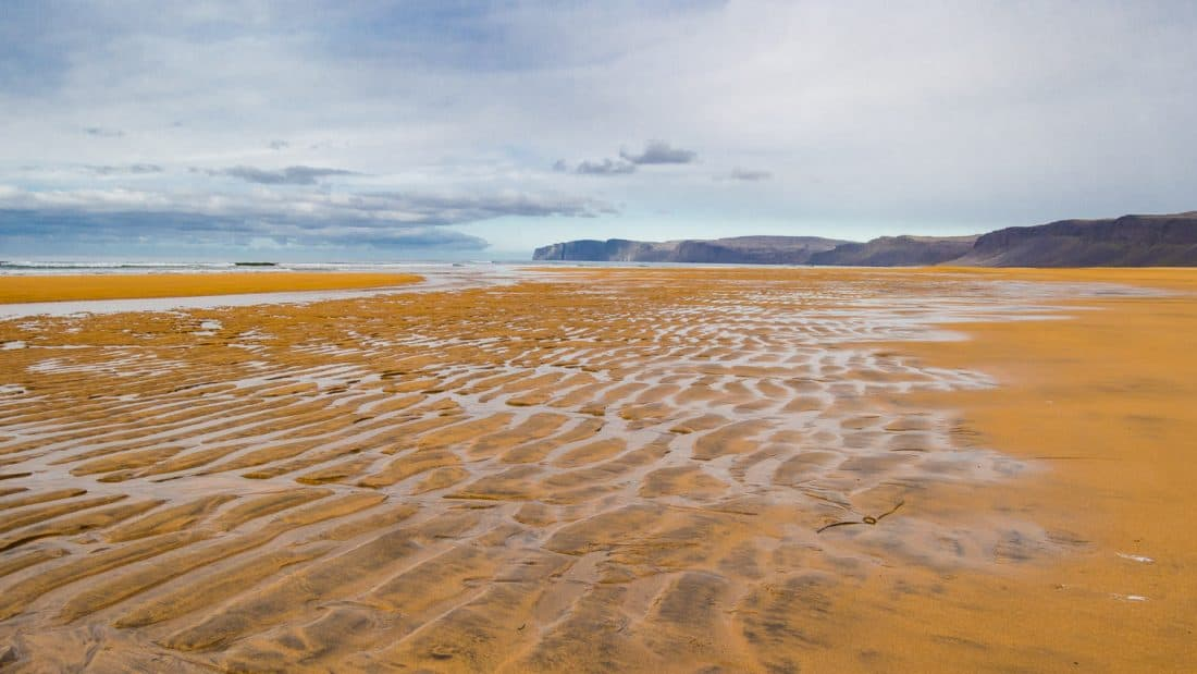 Rauðasandur, the red beach in the Westfjords