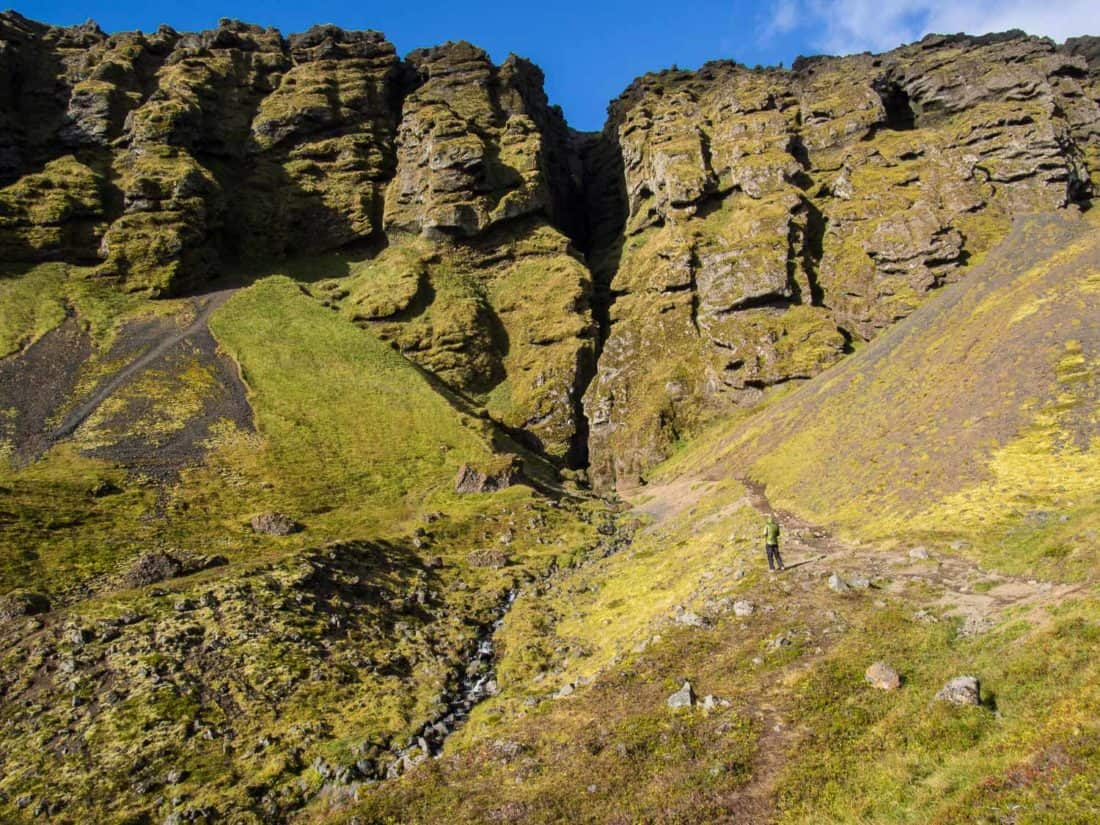 Rauðfeldsgjá Gorge was one of the best stops on our Iceland itinerary