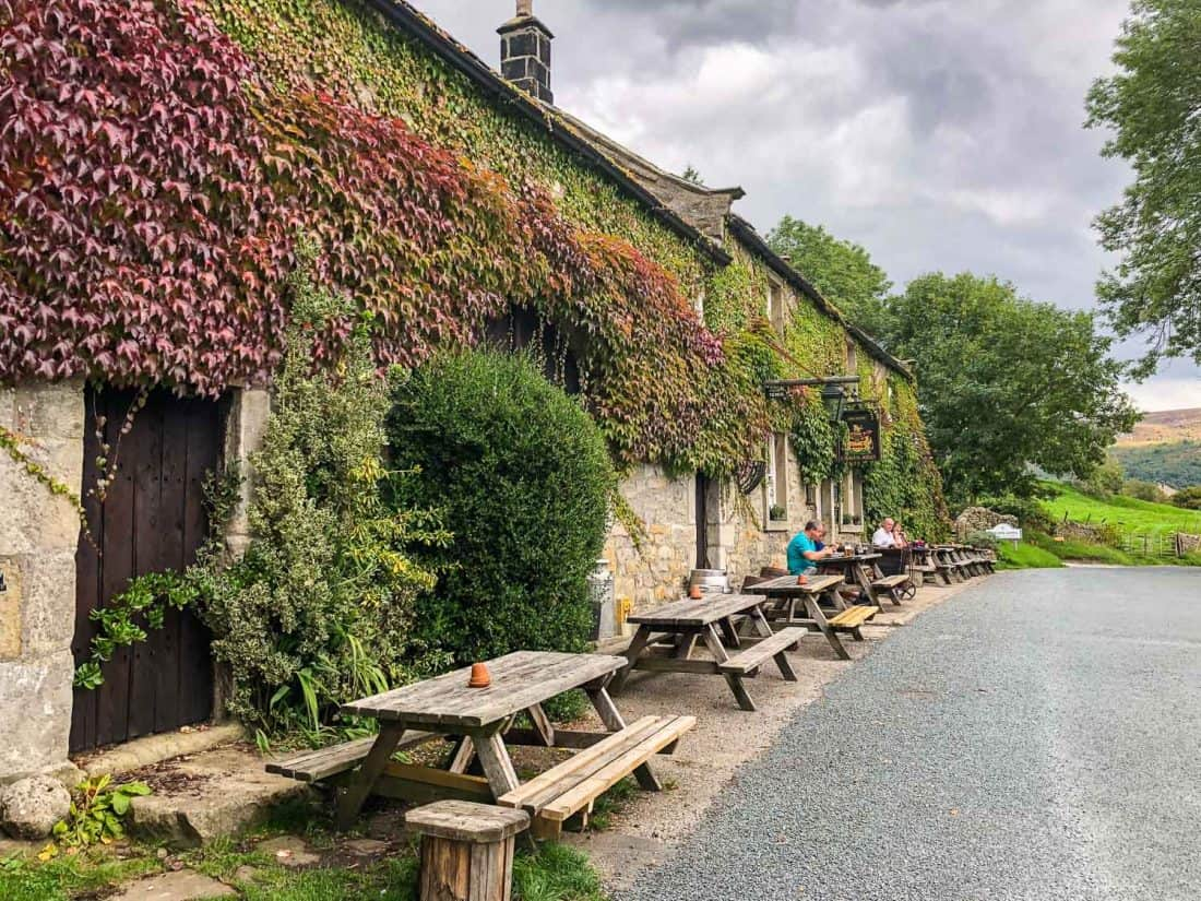 The Craven Arms in Appletreewick on the Dales Way
