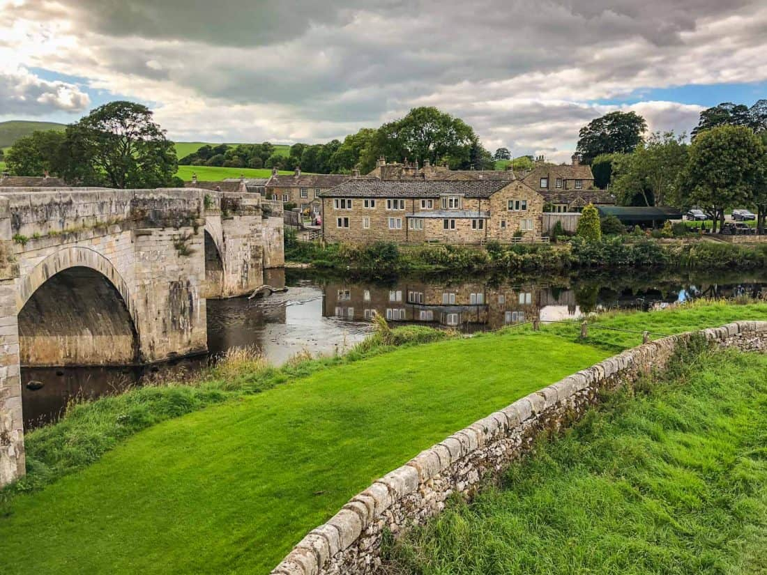 Burnsall, the first overnight stop on the Dales Way