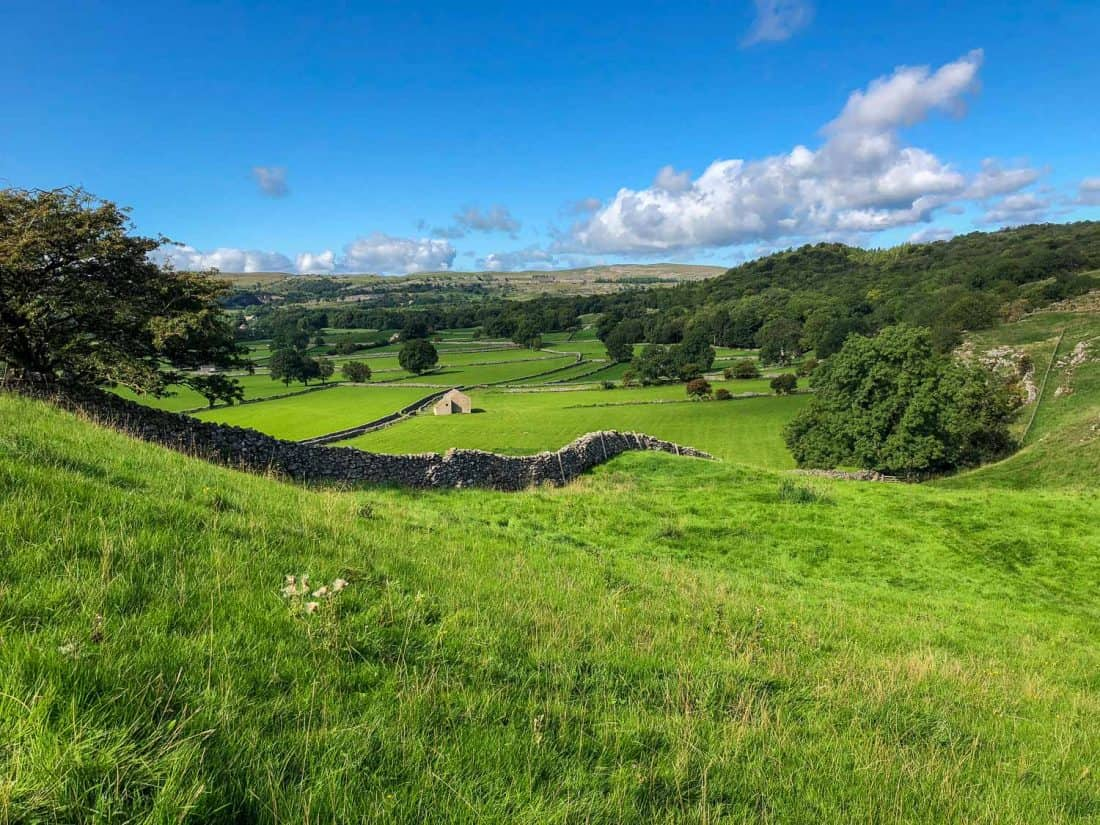 The Dales Way outside Grassington in the Yorkshire Dales