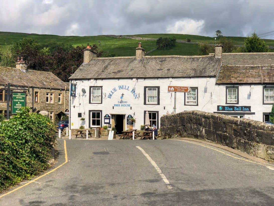 Kettlewell village on the Dales Way