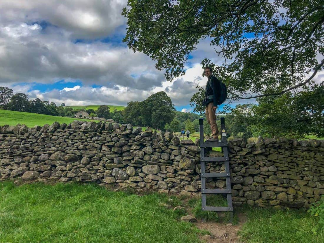 Expect lots of stiles on the Dales Way