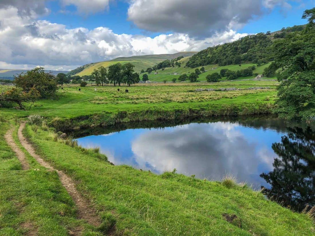 Walking from Kettlewell to Hubberholme on the Dales Way