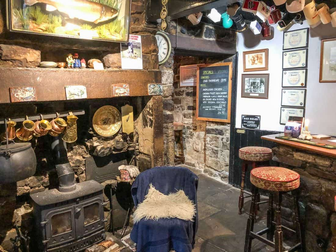 The George Inn in Hubberholme, the perfect overnight stop on the Dales Way