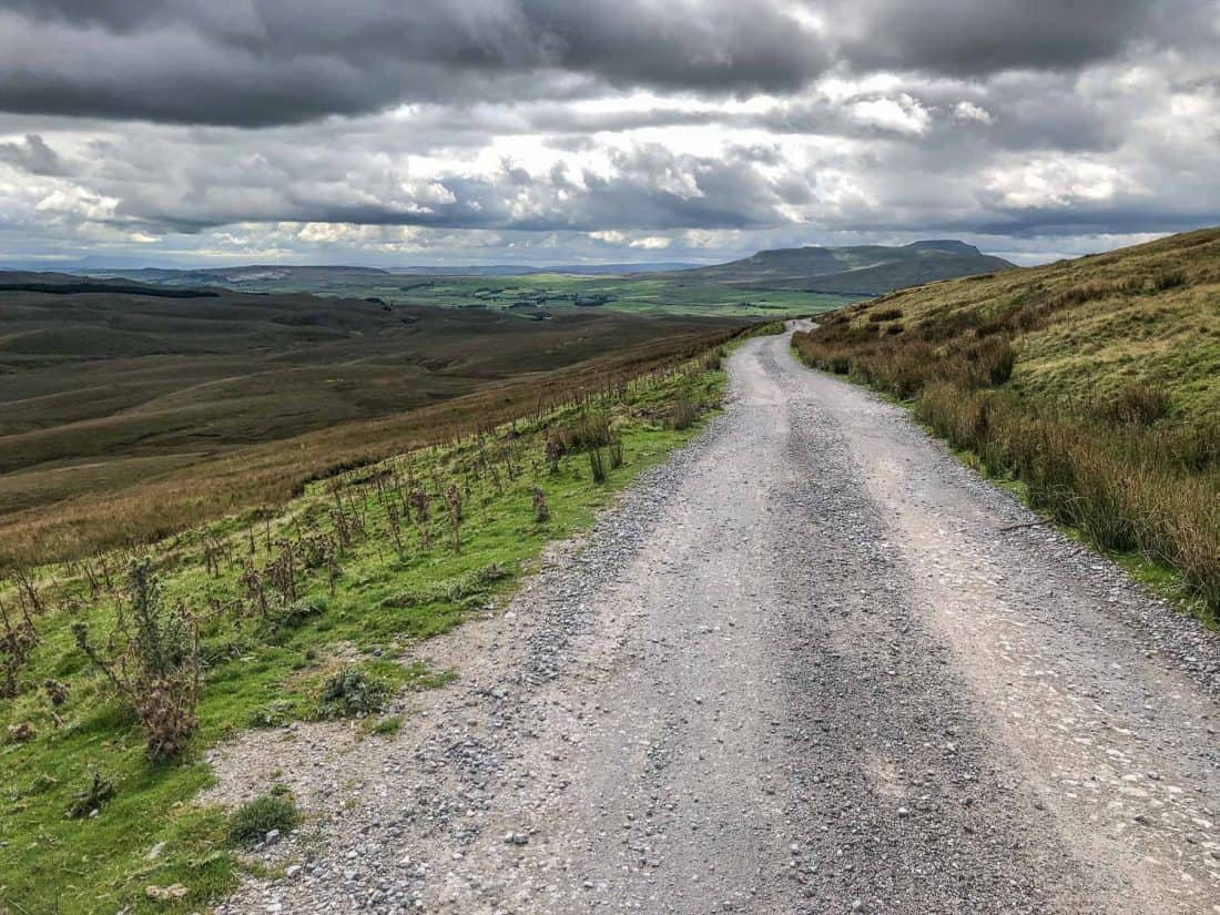 Cam High Rd on the Dales Way walk