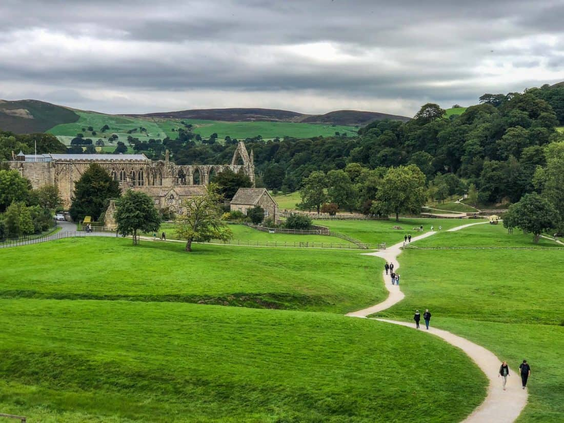 Bolton Abbey on the Dales Way